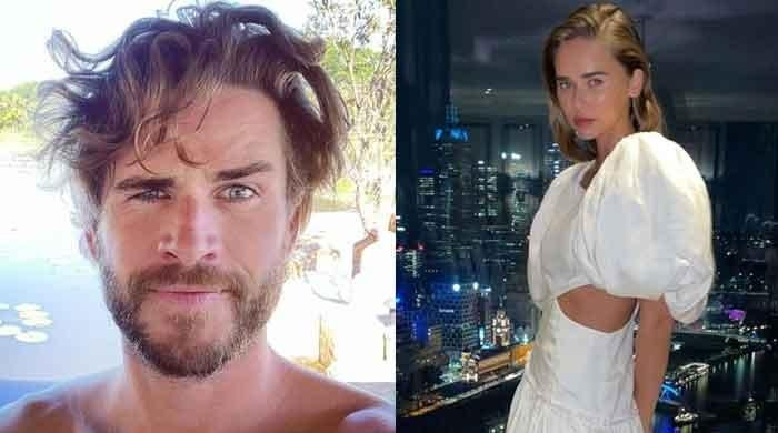 Liam Hemsworth shows off his new look to impress girlfriend Gabriella Brooks