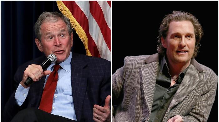 'Politics is a tough business,' George W. Bush advises Matthew McConaughey