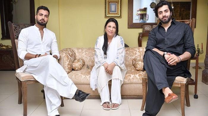 Sakina Samo praises Sheheryar Munawar, Asad Siddiqui