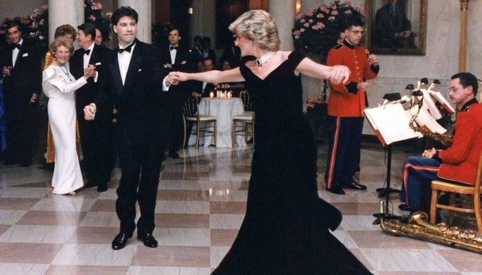 John Travolta looks back at his iconic dance with Princess Diana - Geo News