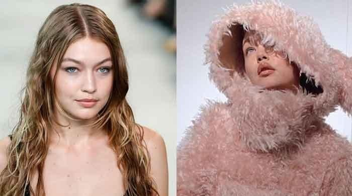 Gigi Hadid's stunning beauty in faux-fur bunny costume will make you skip a heartbeat
