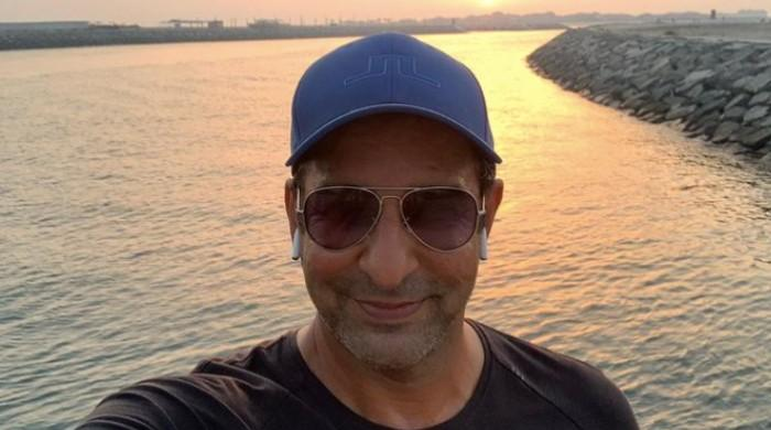 'Great city, great weather': Wasim Akram enjoys Ramadan with son in Dubai