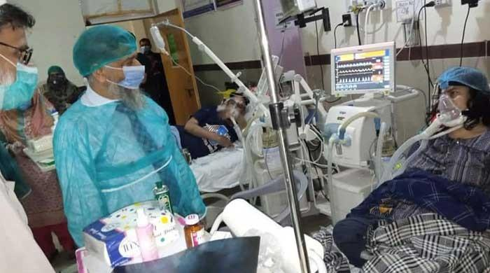Gujranwala DHQ Hospital battles rising coronavirus deaths amid govt 'indifference'