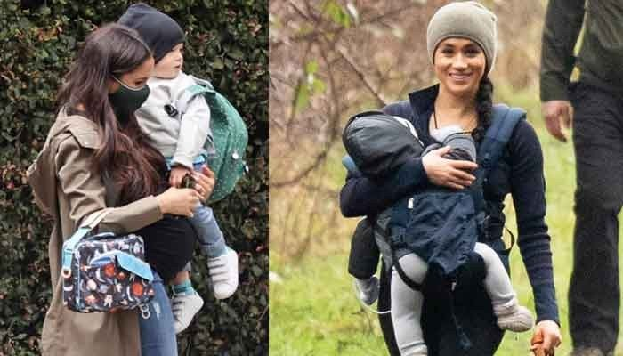 Meghan Markle and son Archie spotted for first time since Prince Harrys US return: photos - Geo News