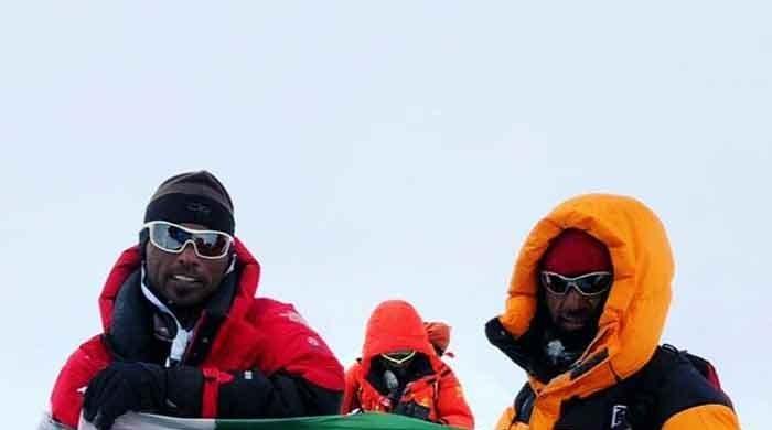 Pakistani climbers Sirbaz Khan, Abdul Joshi dedicate Annapurna summit to Ali Saidpara