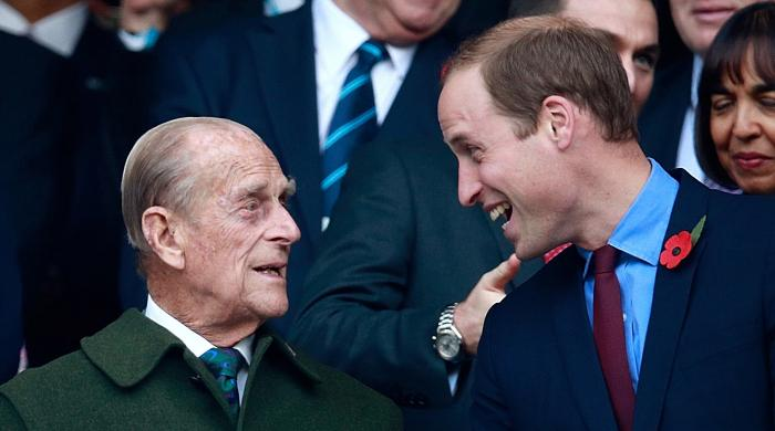 How Prince Philip coached Prince William for future role as king