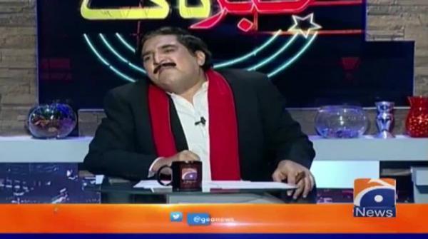 Qamar Zaman Kaira aur Sheikh Rasheed Ahmad (Dummy) Khabarnaak Mai Amnay Samnay
