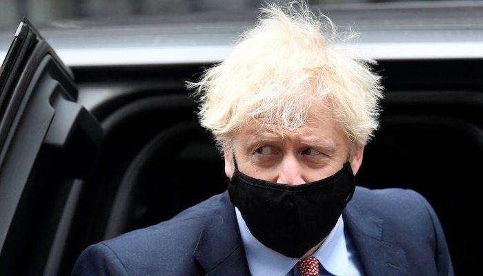 Boris Johnson denies Covid 'bodies pile high' comment