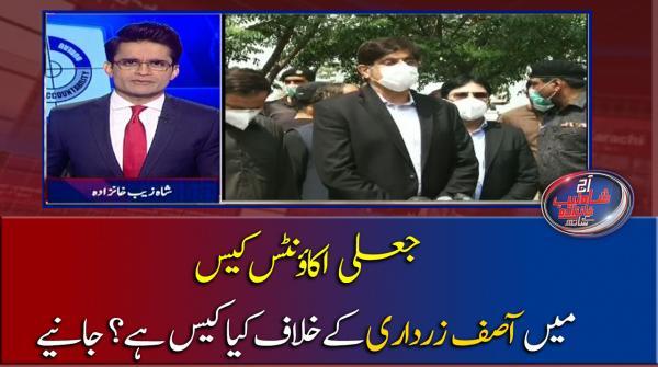 Jaali Accounts case mein Asif Ali Zardari ke Khilaf kia Case hai dekhiye