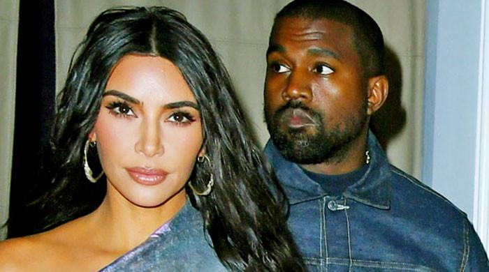 Kim Kardashian mentions Kanye West in an emotional moment in KUWK show