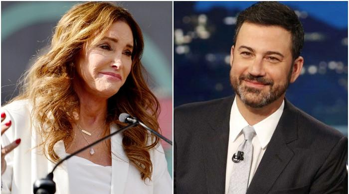 Caitlyn Jenner gets an earful from Jimmy Kimmel after comments on the homeless