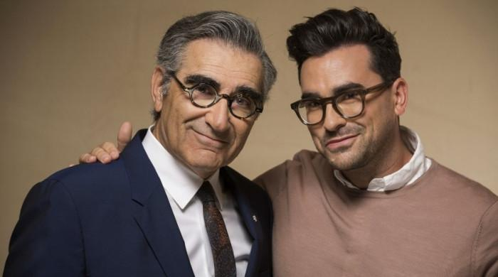 Dan Levy responds to fake news about dad Eugene Levy's death