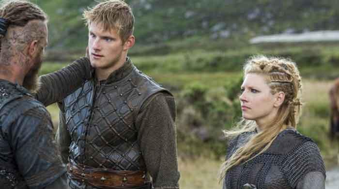 'Vikings': Lagertha actress wishes her on-screen son on his birthday