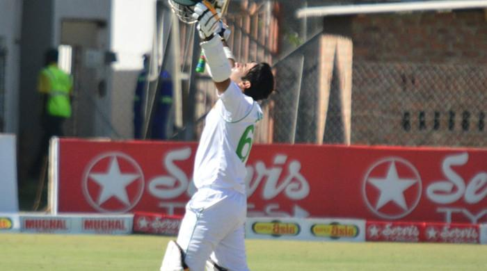 Abid Ali hits highest Test score by Pakistani batsman in Zimbabwe