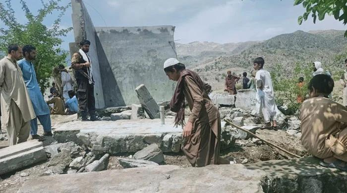 7 children die after walls of water tank collapse over them in Mohmand district