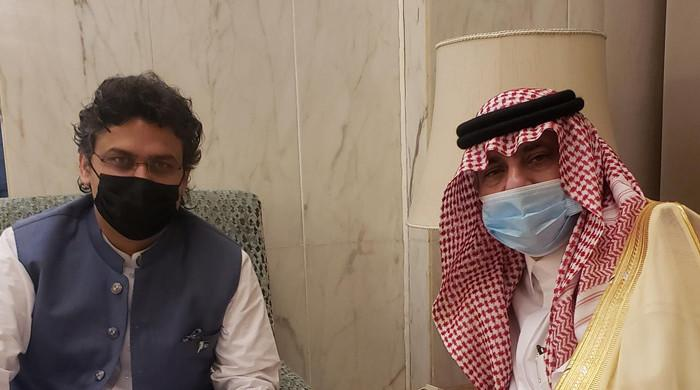 Faisal Javed, Saudi media minister exchange views on exhibiting Islamic history via TV series