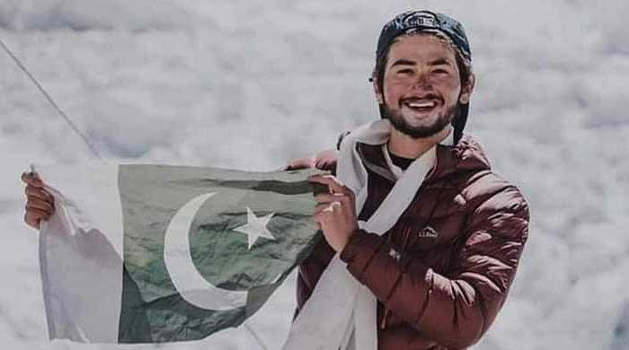 Pakistan's Shehroze Kashif is the youngest mountaineer to summit Mt Everest