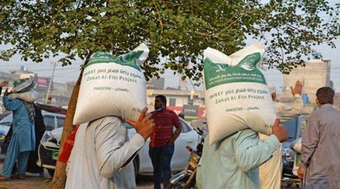 Distribution of zakat rice from Saudi Arabia begins in Pakistan