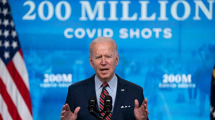 Biden says nearly half of world leaders asking for US vaccine help