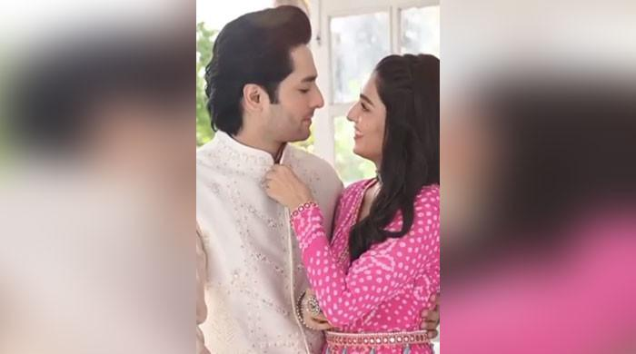 Check out Ayeza Khan, Danish Taimoor's PDA-filled Eid video