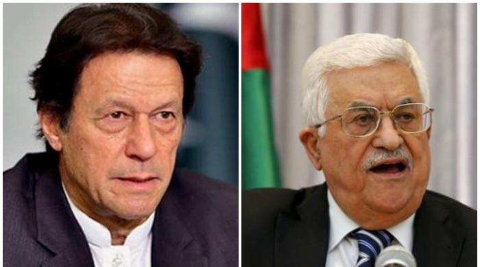 PM Imran Khan calls Palestinian President Mahmoud Abbas to show solidarity