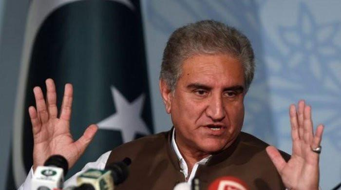 Pakistan, Turkey to jointly move UN for urgent meeting on Palestine: FM Qureshi