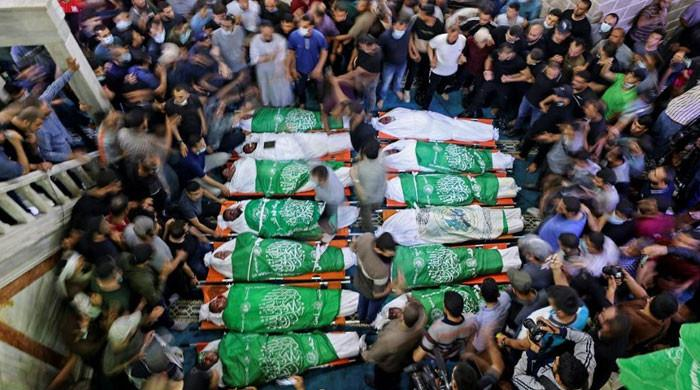 Palestine death toll rises to 126, including 31 children as Israel continues airstrikes