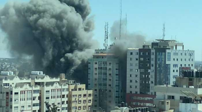Israel flattens Gaza building housing AP, Al Jazeera media offices in targeted air strike