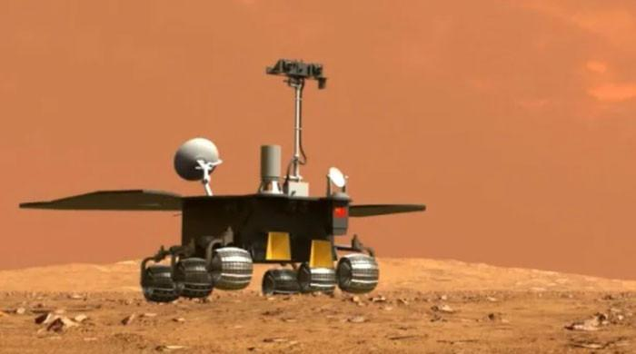 China´s Zhurong rover touches down on Red Planet