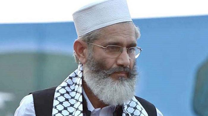 Siraj ul Haq announces nationwide protest against Israel on May 21