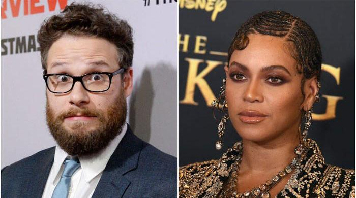 Seth Rogen hilariously recalls meeting Beyonce at Grammys