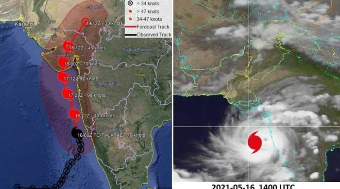 Tauktae update: Cyclone moving northward, may cross Indian Gujarat night of May 17