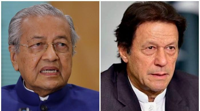 PM Imran Khan, Malaysia's Mahathir Mohamad discuss Palestine situation over phone