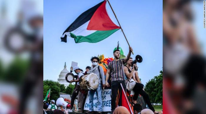 'Solidarity with Palestine': Protests erupt in major US cities against Israeli massacre