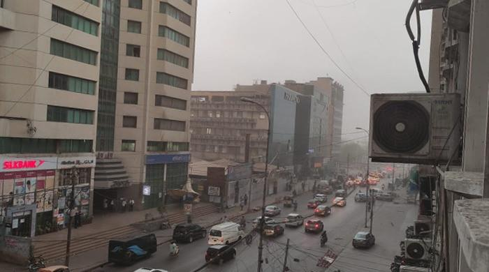 Karachi weather: 3 dead as dust storms, rain hit city