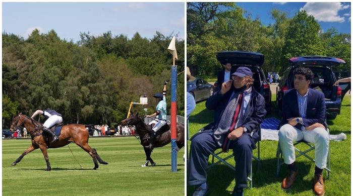 Nawaz Sharif watches Maryam's son Junaid play polo for Cambridge University