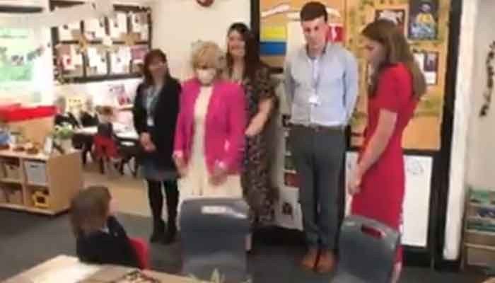 Video: Kate Middleton, Jill Biden visit primary school - Geo News