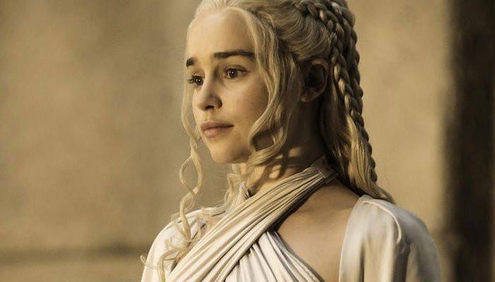 Emilia Clarke names the culprit behind 'Game of Thrones coffee cup gaffe - Geo News