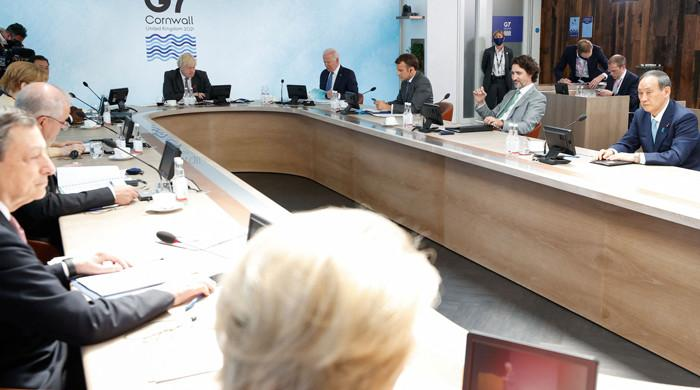 G7 agree to deliver COVID vaccines, take on climate change