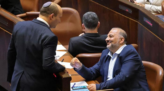 Israeli parliament votes in new govt to end Netanyahu's 12-year tenure