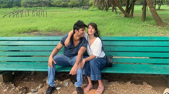 Rhea Chakraborty shares a heart-wrenching tribute for boyfriend Sushant Singh Rajput