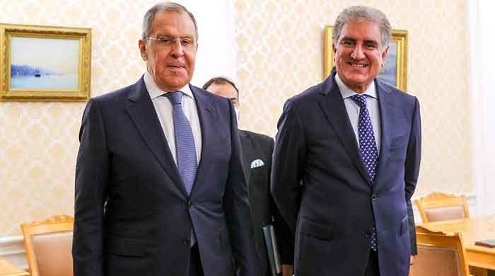 FM Qureshi, Lavrov stress on importance of stronger Pak-Russia ties