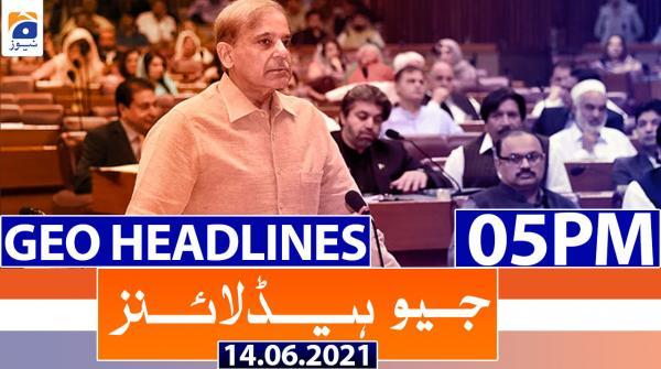Geo Headlines 05 PM | 14th June 202