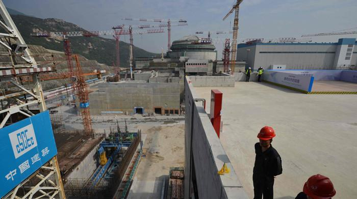 Chinese nuclear plant deliberately releases gas to solve issue