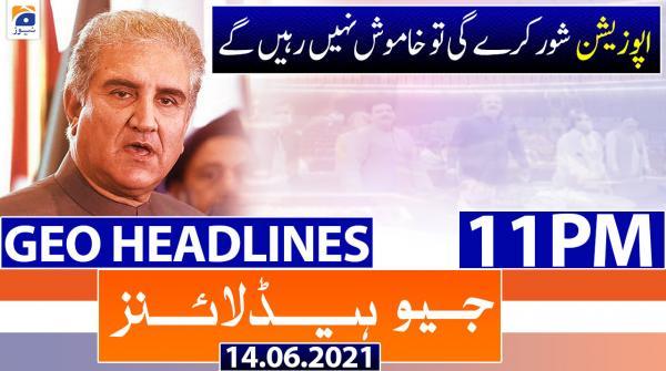 Geo Headlines 11 PM | 14th June 2021