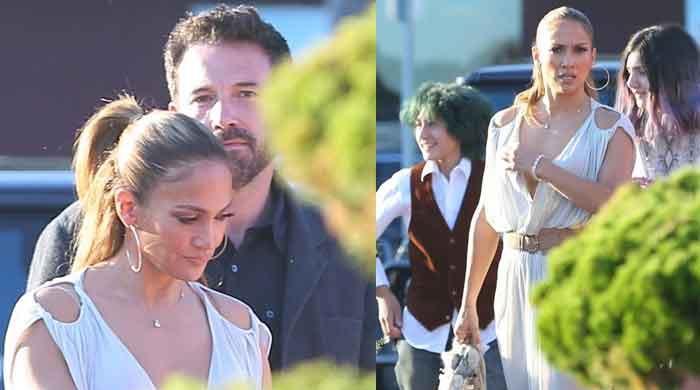 Jennifer Lopez introduces Ben Affleck to her kids as they enjoy intimate dinner in Malibu