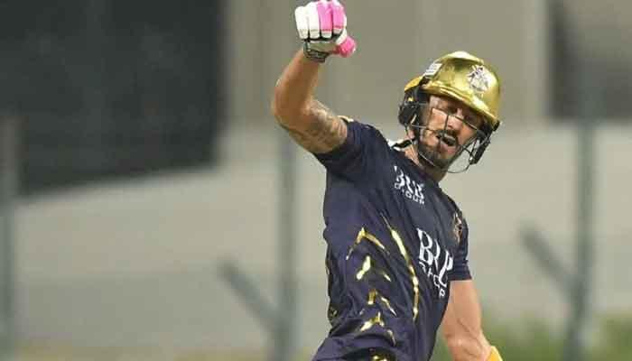 Quetta Gladiators star batsman Faf du Plessis. — Photo courtesy