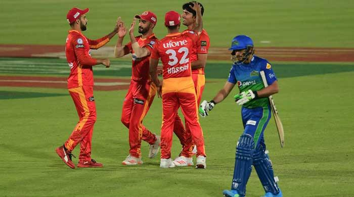 Leading PSL teams Islamabad United, Multan Sultans take on each other today