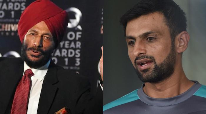 Shoaib Malik sends condolences to family of 'Flying Sikh' Milkha Singh
