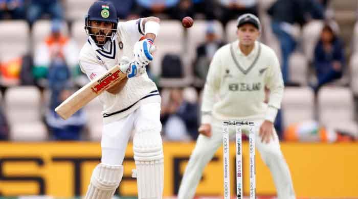 IND vs NZ: Kohli leads India revival before bad light intervenes in WTC final